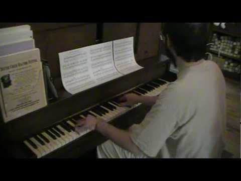 Animaniacs Theme Sight-read By Tom Brier, Piano