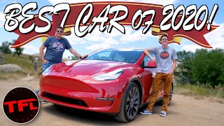 Show Stopper! Here's Why The New Tesla Model Y Is By Far The Best Car of the Year! by The Fast Lane Car