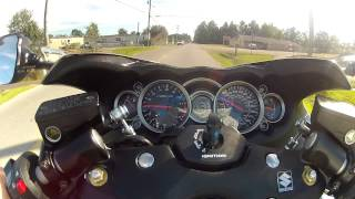 8. 2012 Hayabusa testing out the Go Pro Hero2 HD suction cup mount