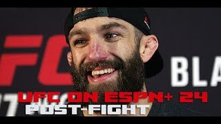 UFC on ESPN+ 24 Post-Fight: Michael Chiesa calls out Colby Covington by MMA Weekly