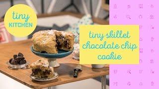 Tiny Skillet Cookie | Tiny Kitchen by Tastemade