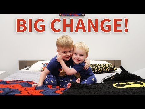 BIG BROTHER BEDROOM CHANGE!