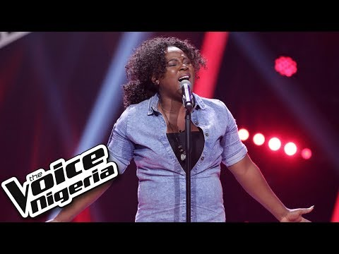 """Arewa Comfort sings """"Let me love you"""" / Blind Auditions / The Voice Nigeria Season 2"""