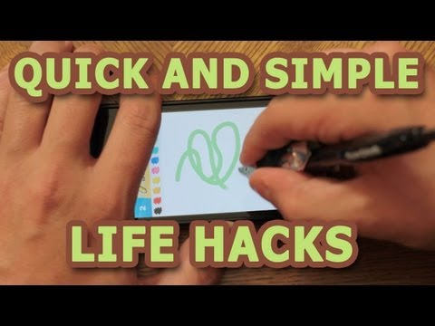 Quick And Simple Life Hacks
