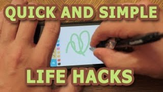 "Screenshot of ""Quick and Simple Lifehacks, Part 1"""