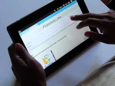 Ematic eGlide XL 10 inch Tablet Review - Android 2.2