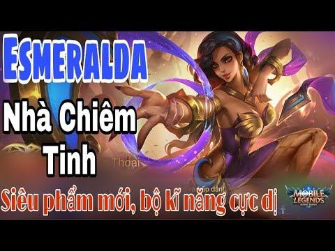 Mobile legends: ESMERALDA - Nhà Chiêm Tinh , Tướng mới cực khoẻ cực trâu, đỡ đòn ư ? - Thời lượng: 20 phút.