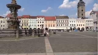 Ceske Budejovice Czech Republic  City new picture : Walking in Ceske Budejovice, Czech Republic