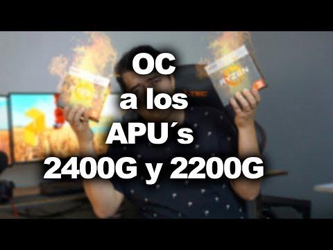 ¿Qué pasa si hacemos OC a los nuevos APU´s? AMD APU 2400G + Overclock = ???? | Proto Hw & Tec