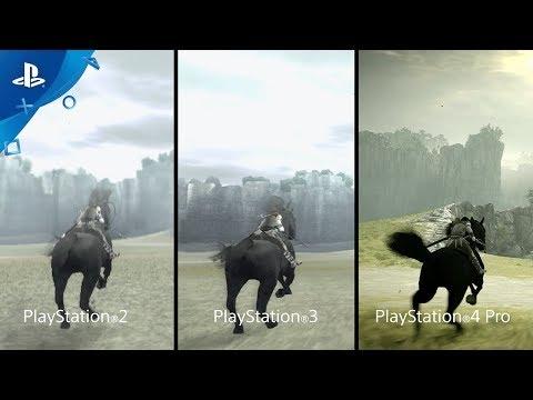 Comparaison entre les différentes versions de Shadow of the Colossus