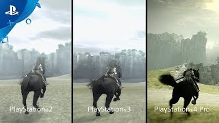 Shadow of the Colossus - PSX 2017: Comparison Trailer | PS4
