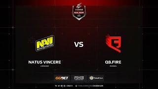 QB.Fire vs Na'Vi, Main Qualifier, ELEAGUE Major: Boston 2018