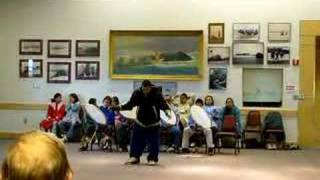 Dance of Inupiaq in Barrow.
