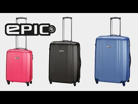 Відео огляд валізи Epic POP 4X IV (M) Black