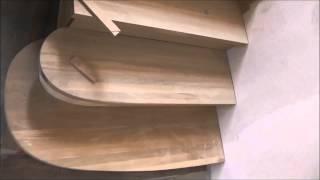 Поэтапная сборка лестницы. Часть 2.