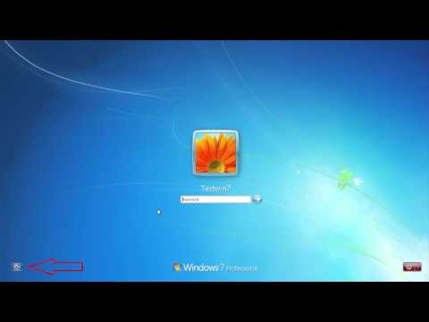 2019 How to hack or reset windows 7 password without any software or installation boot media
