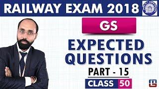 Download Lagu Expected Questions | Part 15 | GS | Class 50 | Railway ALP / Group D | 10 PM Mp3
