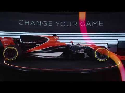 Change Your Game: Introducing the McLaren-Honda MCL32 (видео)