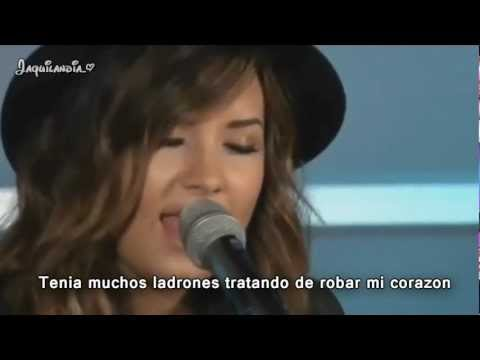 Video Demi Lovato- How to love- subtitulado español- Live acoustic download in MP3, 3GP, MP4, WEBM, AVI, FLV February 2017