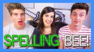 Catrific Spelling Challenge ft. Doug & Joey Graceffa! | catrific
