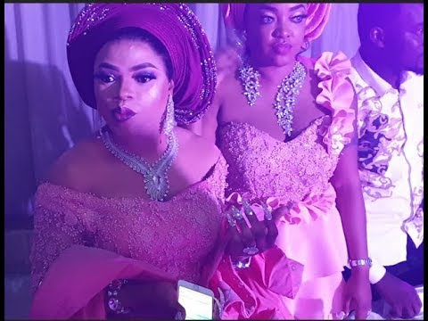See Bobrisky cool Dance moves as he joins other stars on the dance floor at OBA 2018 Wedding