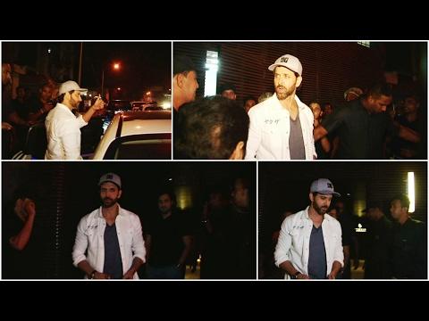 Hrithik Roshan Spotted At Estella Juhu For Dinner
