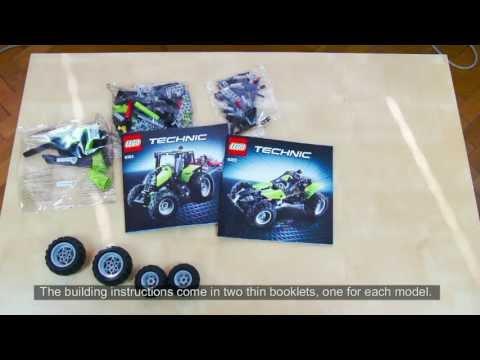Vidéo LEGO Technic 9393 : Le tracteur