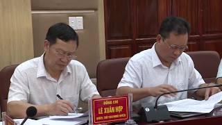 UBND huyện họp thường kỳ tháng 7/2019