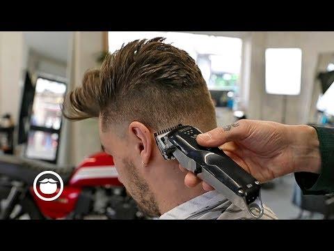 Mens hairstyles - Modern Quiff Men's Haircut  OFF - CUT Barbers