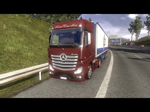 Mercedes Benz Actros MP4 1.8.2.5s