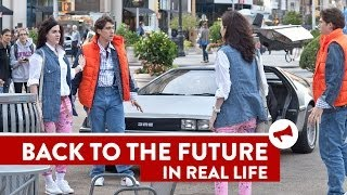 Back To The Future Twins Prank - Movies In Real Life (Episode 5)