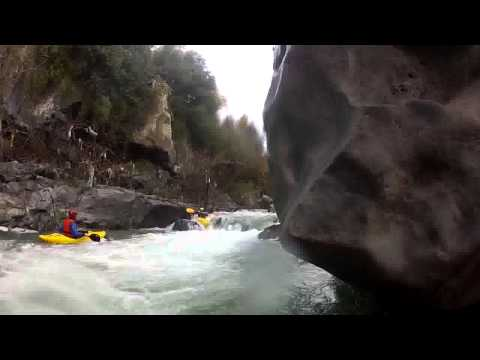 Gole dell' Alcantara 2013 Kayak (creeking)