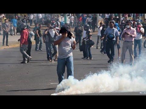 Νικαράγουα: Τουλάχιστον δέκα νεκροί στις επεισοδιακές διαδηλώσεις…