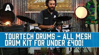 TourTech Drums - A Mesh Electronic Drum Kit Under £400!