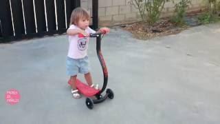 Probamos el patinete infantil de Fascol