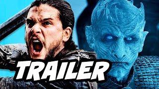 Game Of Thrones Season 7 Trailer 2. Jon Snow vs Night King, Azor Ahai Flaming Sword, Bran Stark Winterfell, Sansa, Daenerys Dragon Battles and Episode 1 Theo...