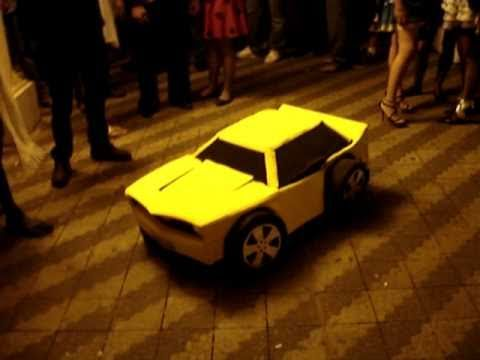 Real Life Bumble Bee Costume.