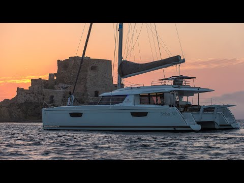 Fountaine Pajot SABA 50video