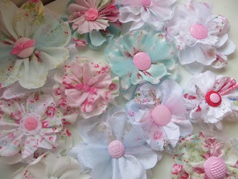 shabby chic style flowers