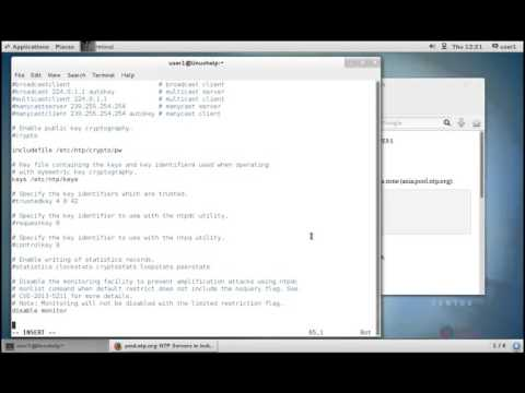 How to Setup NTP (Network Time Protocol) Server in RHEL/Centos 7 (видео)