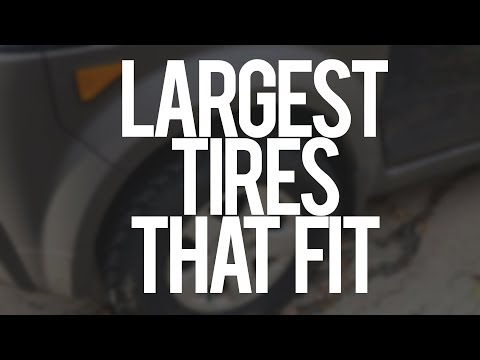 The Largest Tires Installed on my Honda Element - 225-75-16 - General Grabber AT2