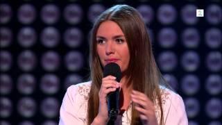"""The Voice 2013 (TV2). Oda Kvingedal Larsen med """"Falling Slowly"""""""