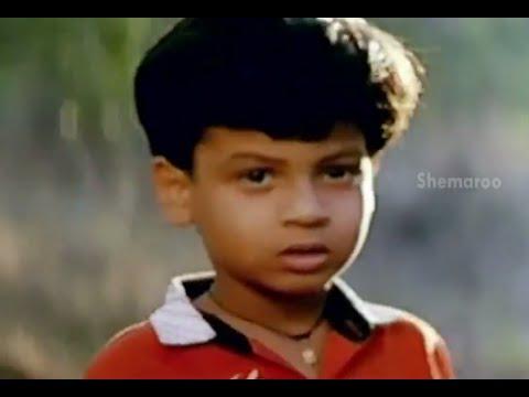 Bhale Bullodu Movie Scenes - Jagapathi Babu leaves Chinna in a forest - Soundarya, Jayasudha