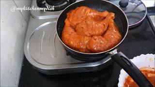 """Please watch: """"Whole Chicken Roast Recipe  Chicken Roast In Oven Tutorial  My Kitchen My Dish""""..."""