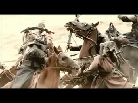 Mongolian Battle Scene (Huun Huur-Tu & Carmen Rizzo - Ancestor's Call) (видео)