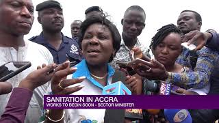 NEW SANITATION MINISTER EMBARKS ON FAMILIARIZATION TOUR