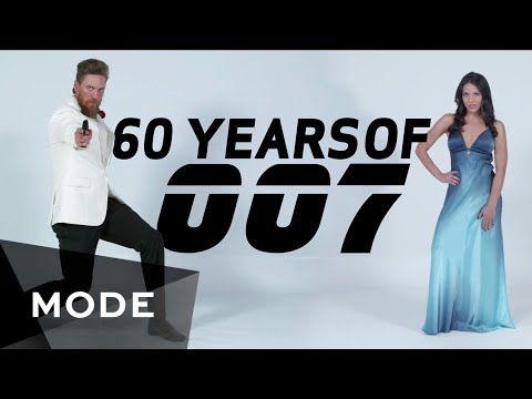 60 Years of James Bond Film Fashion Shown In Four