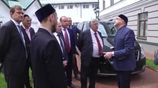 Визит председателя Изборского клуба Александра Проханова в ДУМ РТ