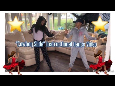 "Brooklyn Queen x Hakeem ""Cowboy Slide""  Instructional Dance Video"