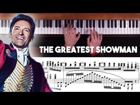 The Greatest Showman Advanced Piano Medley with Sheet Music